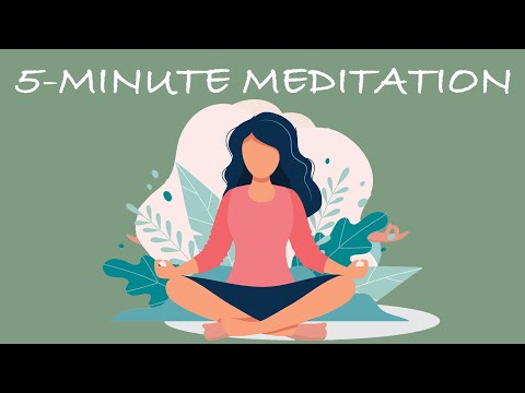 5-Minute Meditation You Can Do Anywhere