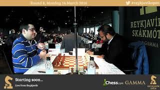 2016 Reykjavik Open Round 8