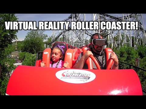 Ninja The New Revolution Virtual Reality Roller Coaster POV - Six Flags St. Louis