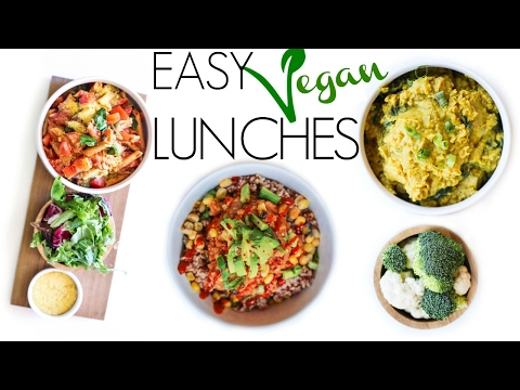 EASY VEGAN LUNCH IDEAS FOR WEIGHT LOSS + GIVEAWAY!