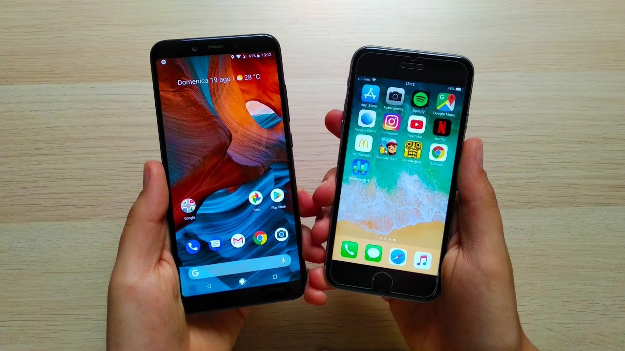 IPHONE SE VS XIAOMI MI A2