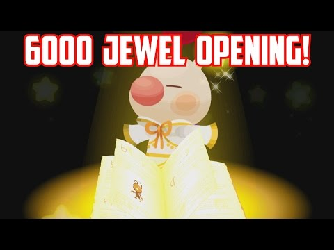 6000 Jewel Opening in Japan Version! - Kingdom Hearts Unchained X