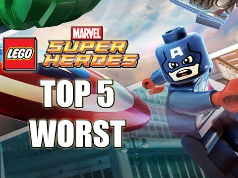 TOP 5 WORST LEGO Marvel Superheroes Characters