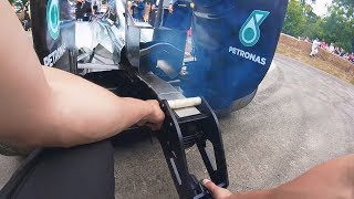 A Day in the Life of an F1 Show Car Team   Goodwood 2017