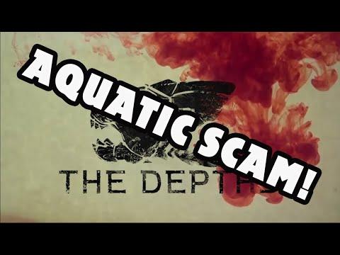 AQUATIC SCAM! | The Depths Prehistoric Survival | Dev Running off with Money |