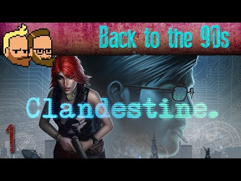 Back to the 90s - Let's Multiplay CLANDESTINE (co-op gameplay) - ep1