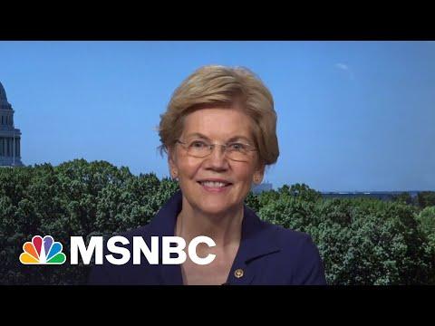 Sen. Warren Reacts To GOP Infrastructure Counteroffer | MSNBC