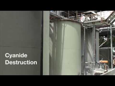 Unity Mining - Henty Gold Mine - Process Plant - Destruction of Cyanide after use