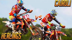 Jeffrey Herlings vs Antonio Cairoli