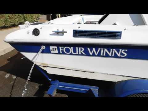 Four Winns Boat, Checking Automatic Bilge Pump 5-25-17