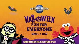 Universal Studios Singapore - Halloween Fun For Ev...