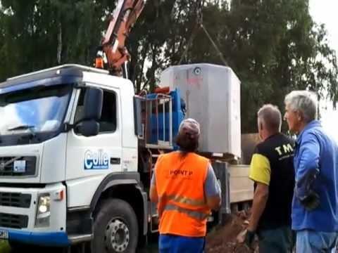R cup rateur d 39 eau de pluie guerting youtube for Recuperateur d eau de pluie