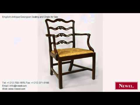 English Antique Georgian Seating and Chairs for Sale