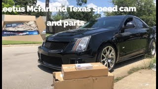 Cts-V Parts are in! Cleetus Mcfarland Cam it's chop time!