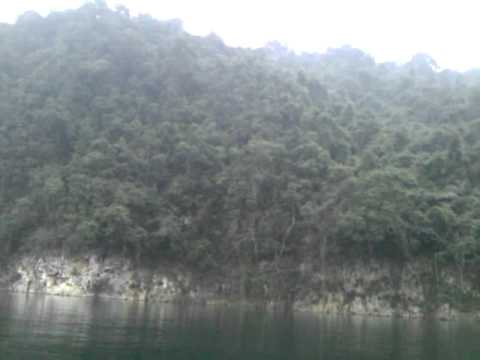Boat ride in the nahang reservoir...