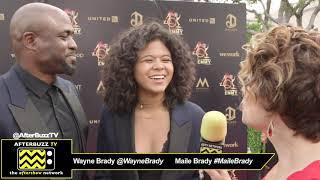 Gambar cover Wayne Brady & Maile Brady Interview   2019 Daytime Emmy Awards