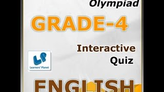 4th Class English Olympiad Practice Book