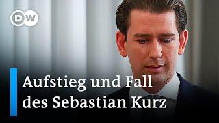 Der gestürzte Liebling – Aufṡtieg und Fall des Sebastian Kurz   DW Nachrichten