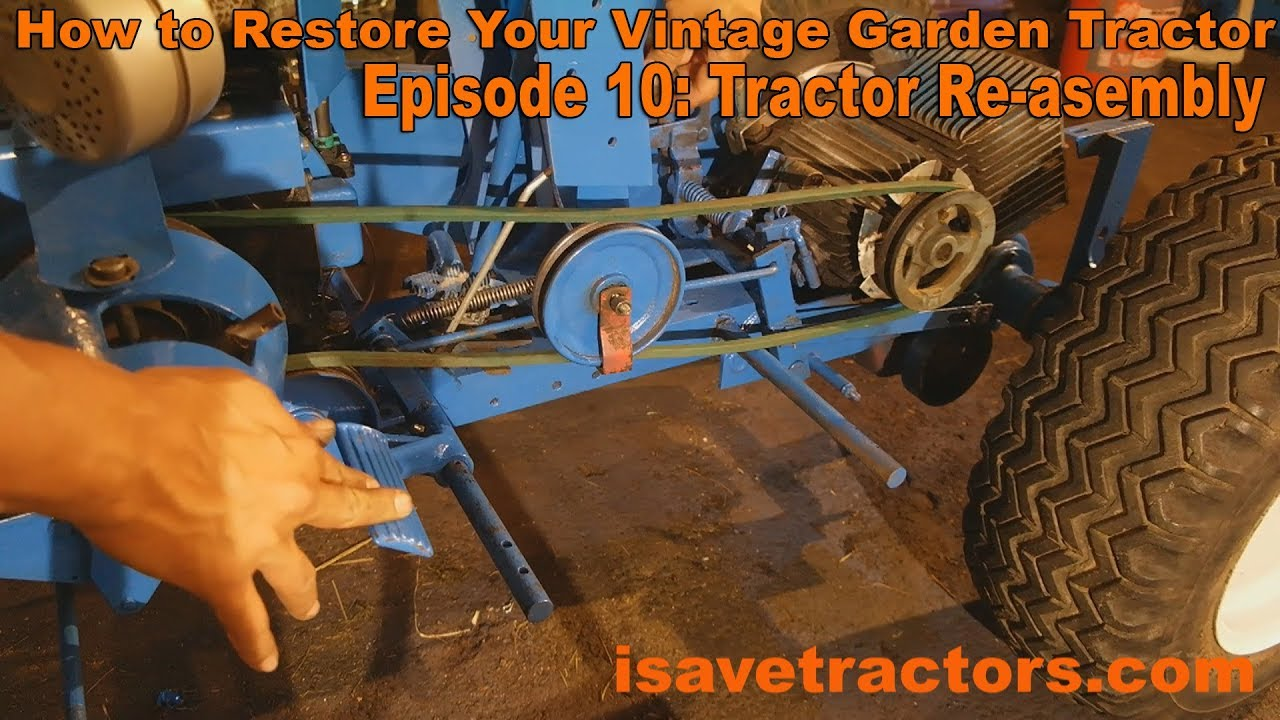 Ford 120 Garden Tractor Wiring Gardening Flower And Vegetables Lgt 125 Diagram How To Restore Your Vintage Ep 10 Re