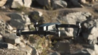 Black Drone Stock Video