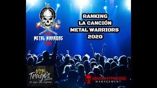 """RANKING """"LA CANCION METAL WARRIORS 2020"""""""