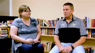 Booster Editor Valarie Reddel interviews Woodville ISD Superintendent Glen Conner