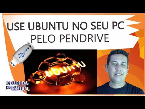 Como criar Live do Ubuntu e usar pelo pendrive