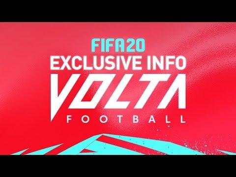NEW EXCLUSIVE FIFA 20 VOLTA GAMEMODE INFO!