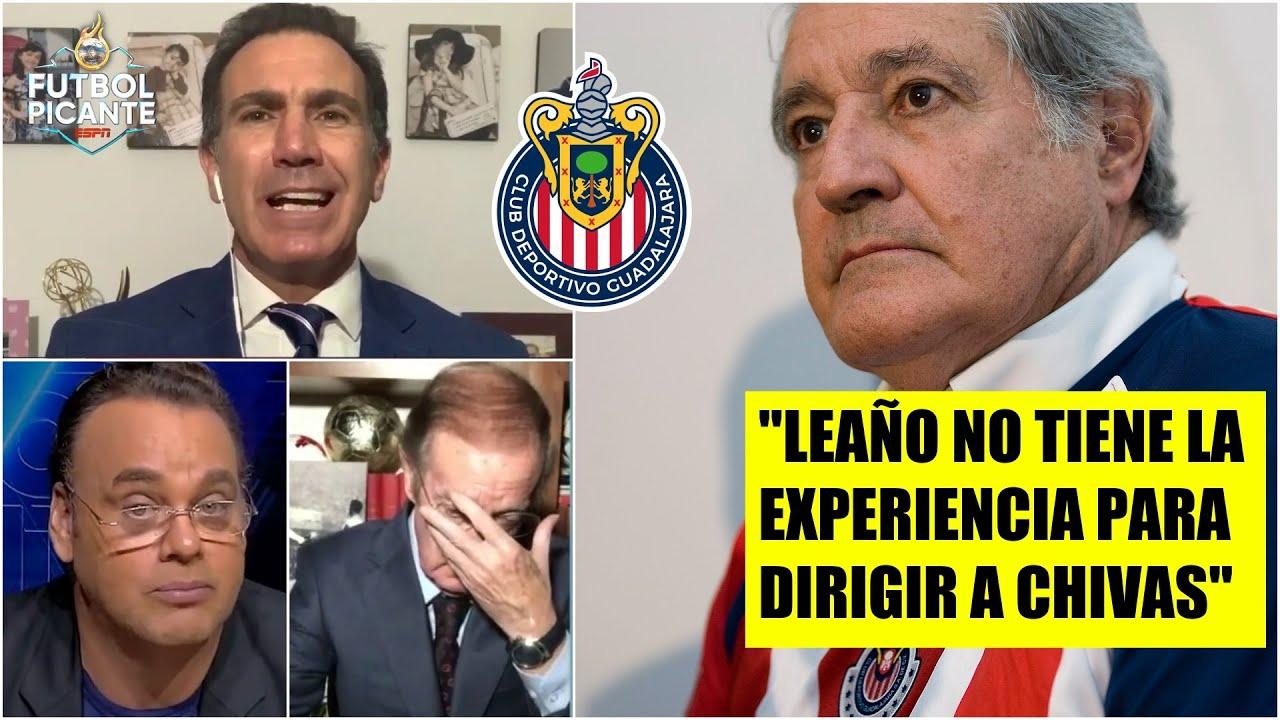 Lebrija tira DARDO a los Vergara por su 'manejo' en Chivas, CRITICA a Michel Leaño