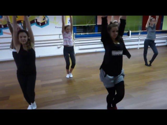 Jazz-Dance routine 1 for beginners