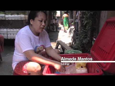 Cash transfer initiative breaks cycle of poverty for families in the Philippines