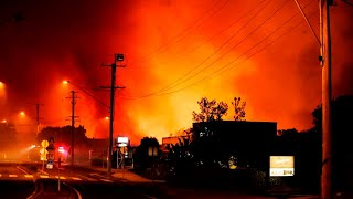 Up To Ten Homes Destroyed By Bushfire At Peregian Beach, Qld