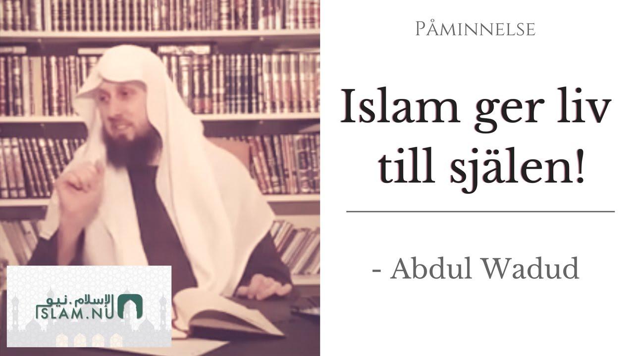 Islam ger liv till själen | Påminnelse med Abdul Wadud