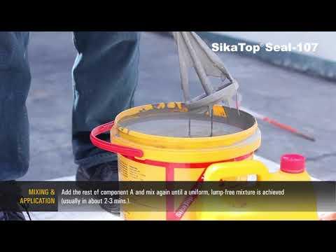 Mortar SikaTop Seal 107