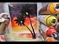 Sea dawn - SPRAY PAINT ART - by Skech