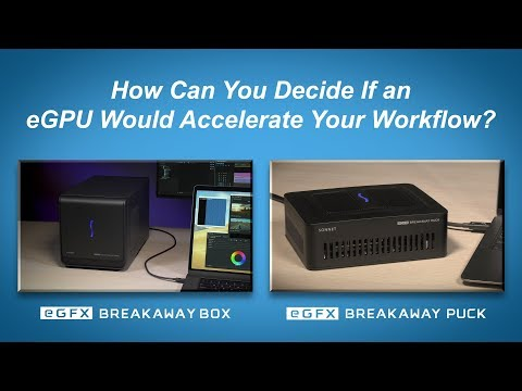 eGFX Breakaway Box for AMD and NVIDIA GPUs | Sonnet