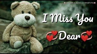 I Miss You Whatsapp Status Video   Miss You Status for Husband, Boyfriend, Girlfriend, Wife