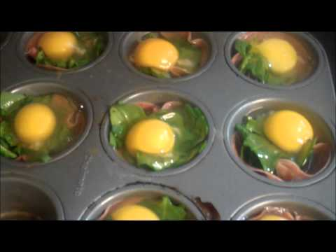 Healthy Cooking – Baked Egg & Cheese Muffin (No bread, Gluten Free)