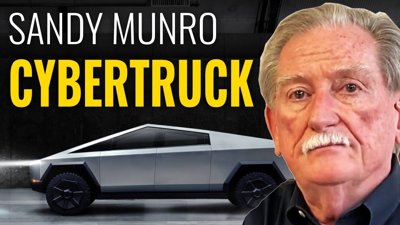 SANDY MUNRO: Tesla CYBERTRUCK vs Gas Pickup Trucks