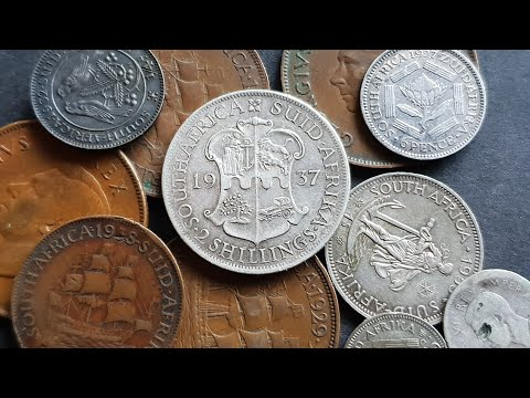 South Africa's Predecimal Coins