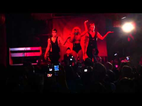 Lady Gaga - Born This Way LIVE at M1NT - Club, Shanghai