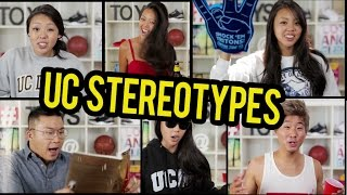 UC STEREOTYPES EXPLAINED