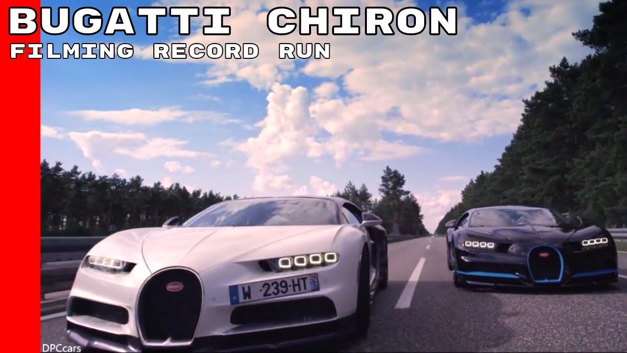 how did bugatti film their fastest 0 400 0 kmph chiron run