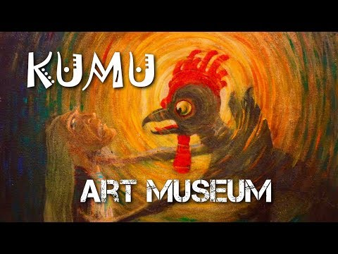 ART MUSEUM of Estonia - KUMU. Permanent Exhibition. Eesti Kunstimuuseum.