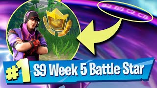 SEMAINE 5 Secret Battle Star Saison 9 LOCATION Fortnite Loading Screen #5 (Hidden Banner - Fortbytes