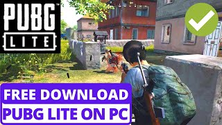 How To Download PUBG LITE On PC ( Windows 10,7,8 ) In HINDI 2020