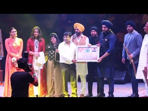 Sadbhawna Diwas Celebrations With Team Mubarakan | Anil Kapo