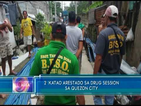 Dalawa katao, arestado sa drug session sa Quezon City