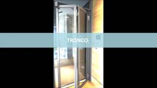 [TRONCO]Automatic Folding door 摺疊自動門