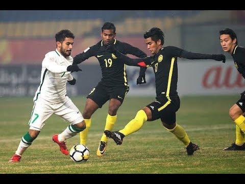 Saudi Arabia 0-1 Malaysia (AFC U23 Championship 2018: Group Stage)